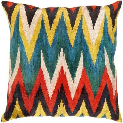 Ikat Throw Pillow Size: 23 x 23