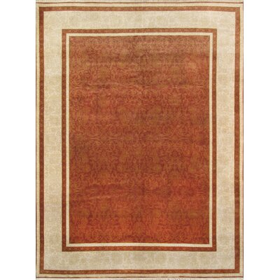 Transitiona Hand-Knotted Area Rug