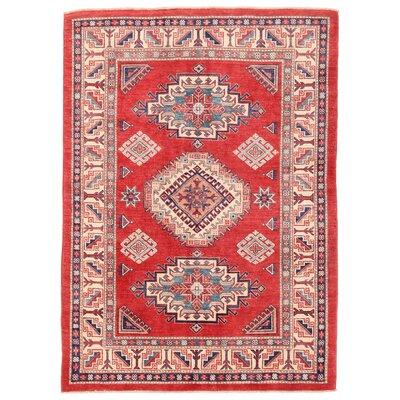 Kazak Hand-Knotted Area Rug
