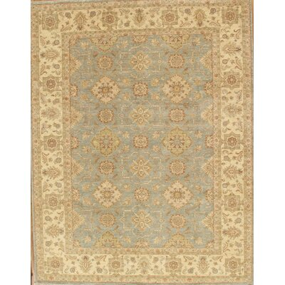 Sultanabad Hand-Knotted Gray/Ivory Area Rug