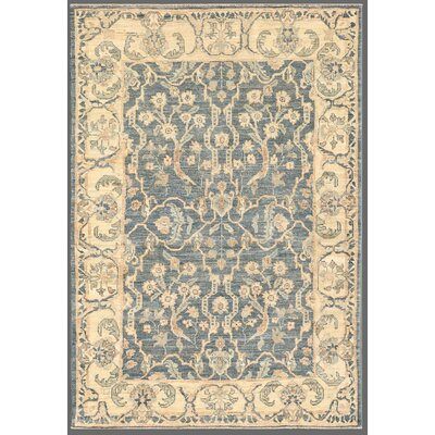 Ferehan Hand-Knotted Grey Area Rug