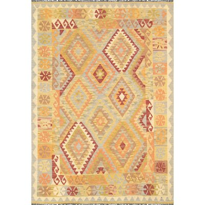 Kilim Hand-Knotted Area Rug