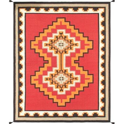 Navajo Hand-Woven Area Rug