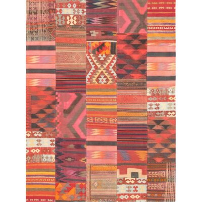 Patchwork Hand-Woven Area Rug