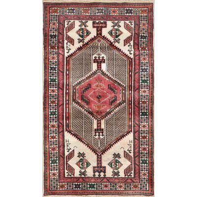 Serab Hand-Knotted Ivory / Rust Area Rug