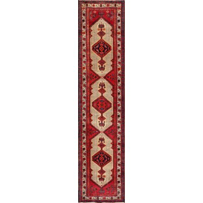 Serab Hand-Knotted Camel / Rust Area Rug