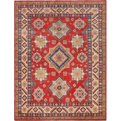 Kazak Hand-Knotted Area Rug