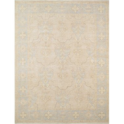 Ferehan Hand-Knotted Light Blue Area Rug