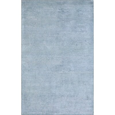 Edgy Hand-Tufted Blue Area Rug