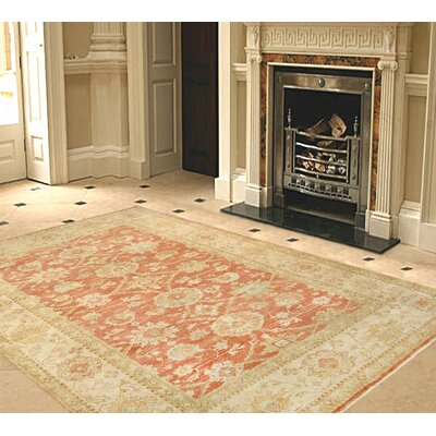 Sultanabad Hand-Knotted Area Rug Rug Size: 63 x 811
