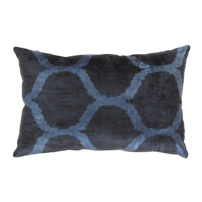 Ikat Velvet Lumber Pillow