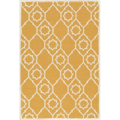 Kilim Hand-Woven Gold Area Rug