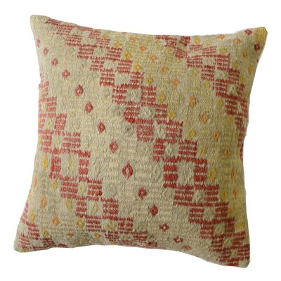 Kilim Wool Throw Pillow