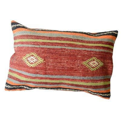 Kilim Wool Lumbar Pillow