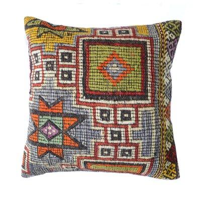 Kilim Wool Throw Pillow
