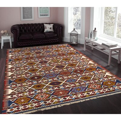 Shirvan Vintage Lambs Wool Hand-Knotted Multi Area Rug