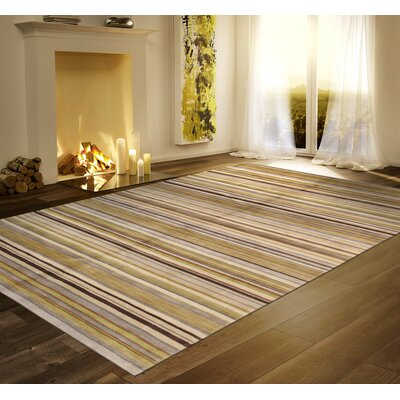 Modern Lambs Wool Hand-Knotted Multi Area Rug