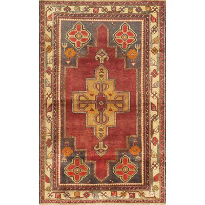 Sivas Vintage Hand Knotted Wool Rust/Camel Area Rug