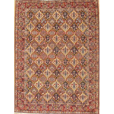 Bakhtiari Antique Hand Knotted Wool Brown/Red Area Rug