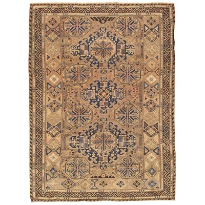 Sumak Antique Hand Knotted Wool Blue/Brown Area Rug