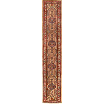 Serab Antique Hand Knotted Camel/Rust Area Rug
