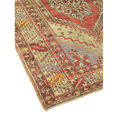 Sivas Vintage Hand Knotted Wool Beige Area Rug