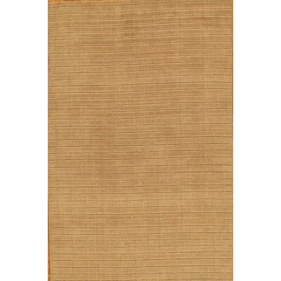 Modern Hand Loomed Wool Beige Area Rug