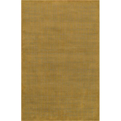 Modern Hand Loomed Wool Brown Area Rug