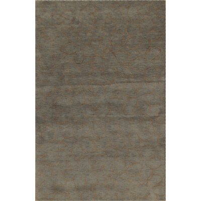Modern Hand Loomed Wool Gray Area Rug