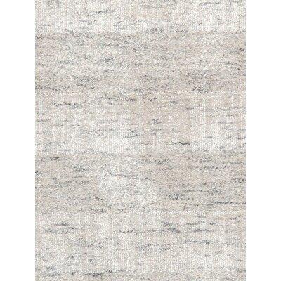 Transitiona Texture Hand Loomed Silk Beige Area Rug