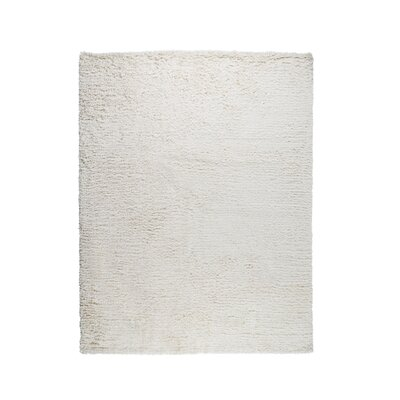 Paris Hand-Woven Cotton Ivory Area Rug Rug Size: Rectangle 9 x 12