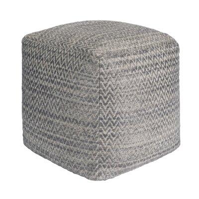 Galaxy Pouf Ottoman Upholstery: Gray