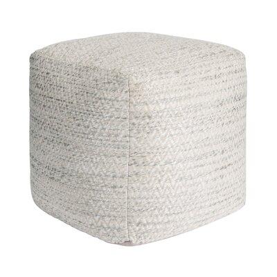 Galaxy Pouf Ottoman Upholstery: Beige