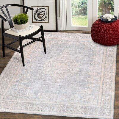 One-of-a-Kind Vintage Overdyes Hand Knotted Wool Beige Area Rug