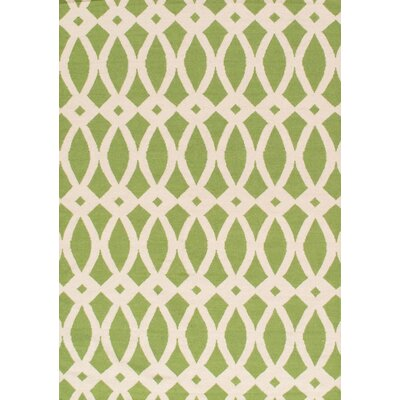 Sahara Ivory/Green Area Rug Rug Size: Rectangle 2 x 3