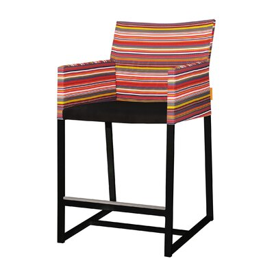 Furniture-Mamagreen Stripe 25 Bar Stool
