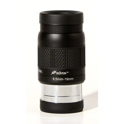 Deluxe 1.25 and 2 Zoom Eyepiece Focal Length: 9.5-19mm