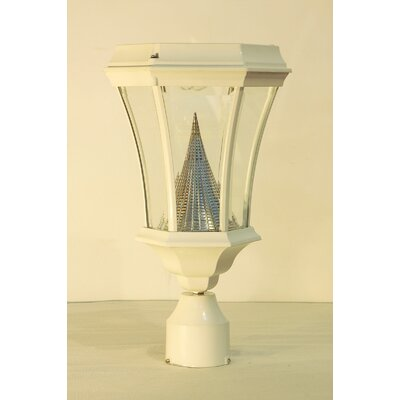 GamaSonic Solar Post Lantern Head in White at Sears.com