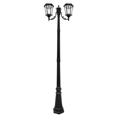Victorian 2-Light LED 90 Post Light