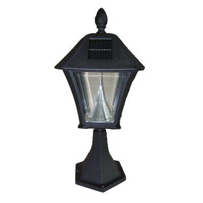 GamaSonic Baytown Solar Post Mount Lamp - Finish: Black at Sears.com