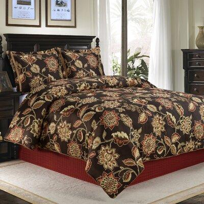 Putnam 4 Piece Comforter Set Size: Queen