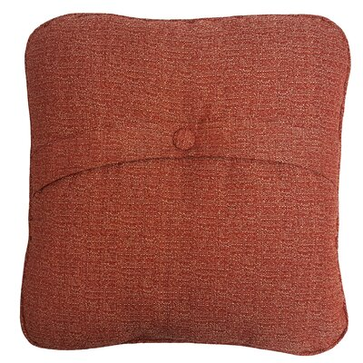 Mason Outdoor Dining Chair Cushion Color: Red