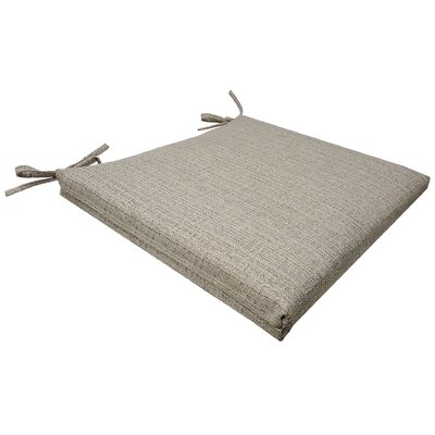 Mason Universal Outdoor Seat Cushion Color: Linen