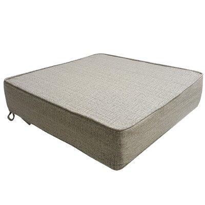 Mason Outdoor Deep Seat Bottom Lounge Chair Cushion Color: Linen