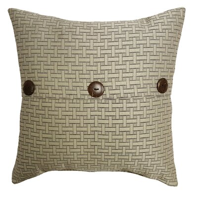 Mathilde Rattan Outdoor Throw Pillow