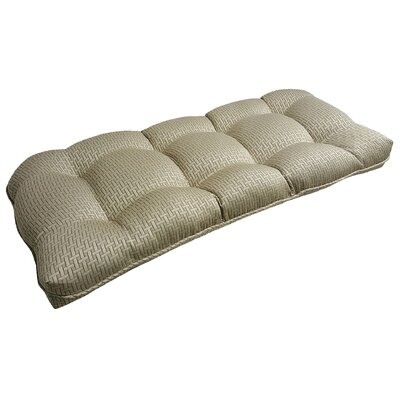 Mathilde Rattan Outdoor Loveseat/Sofa Cushion