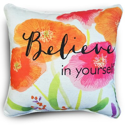 Naro Floral Throw Pillow