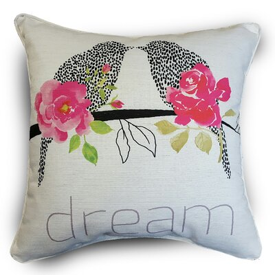 Naro Dream Birds Throw Pillow
