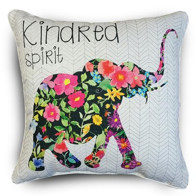 Naro Elephant Throw Pillow