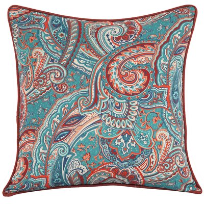 Emet Paisley Outdoor Throw Pillow